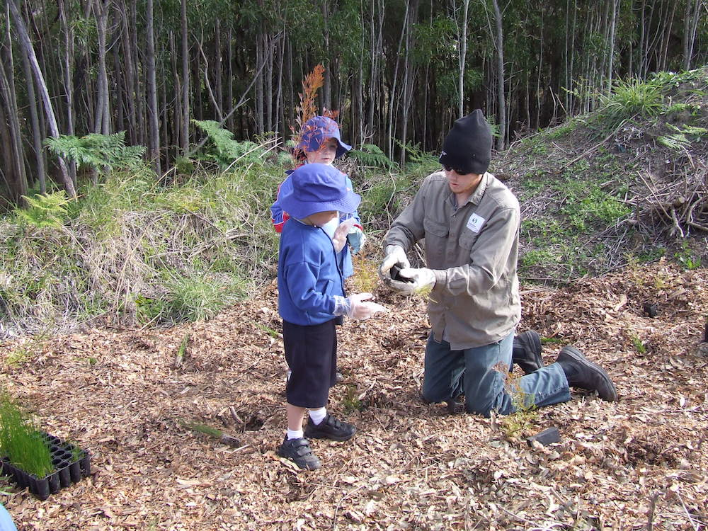 Hunter Wetlands Volunteer